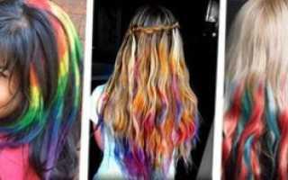 Как покрасить волосы пастелью правильно и красиво