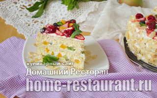 Торт бисквитный с фруктами: как приготовить, советыТорт бисквитный с фруктами: как приготовить, советы: как приготовить, советы