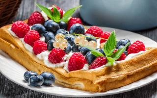 Тесто на вафли: 9 рецептов теста для вафель в вафельнице