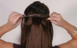 Накладные волосы для причёсок: как прикреплять пряди