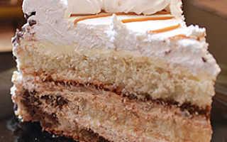 Рецепты творожно-сметанного торта