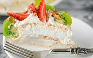 Торт из зефира без выпечки – 8 рецептов быстрого приготовления