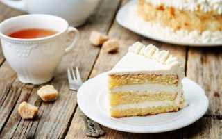 Бисквитный торт со сметанным кремом – секреты приготовления и рецепт