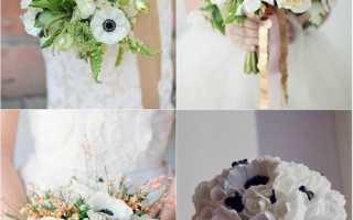 Живые цветы в свадебной прическе – модный тренд