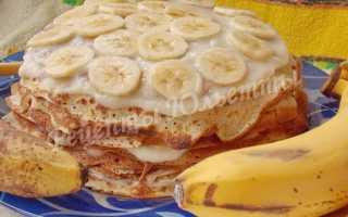 Блинный торт с бананами: как приготовить, советыБлинный торт с бананами: как приготовить, советы: как приготовить, советы