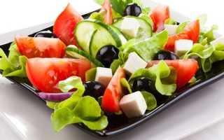 Низкокалорийные салаты для похудения из простых продуктов – рецепты
