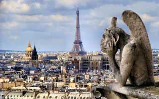 10 основных достопримечательностей Парижа + видео