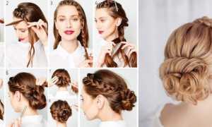 Красивые причёски с собранными волосами