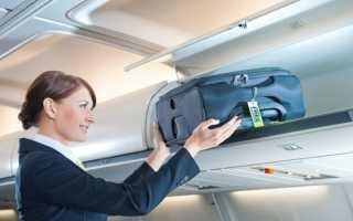 Ручная кладь – что и сколько можно брать в самолет , вес и размеры