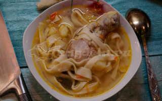 Куриный суп с лапшой: 9 домашних вкусных рецептов приготовления