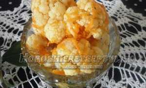 Салат из цветной капусты по-корейски: как приготовить, советыСалат из цветной капусты по-корейски: как приготовить, советы: как приготовить, советы