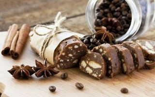 Шоколадная колбаска из печенья и какао: как приготовить, советыШоколадная колбаска из печенья и какао: как приготовить, советы: как приготовить, советы