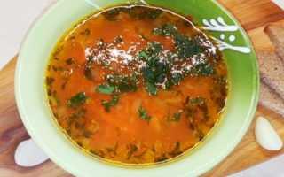 Суп из консервированной фасоли – вкусные рецепты