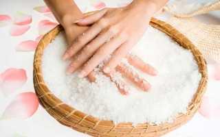 Ванночки для ногтей с солью, 12 лучших рецептов