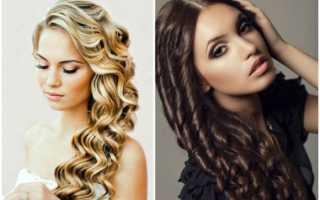 Как накрутить волосы на плойку правильно и красиво