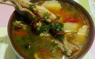 Шурпа из баранины: рецепт классический с фото пошагово