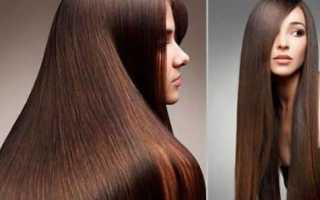 Выпрямление волос без утюжка