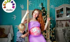 Боди-арт беременных – рисуем на животике!