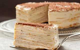 Блинный торт: 7 сладких рецептов