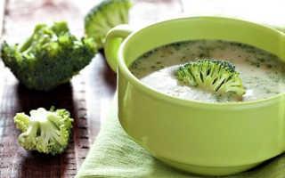 Суп-пюре из брокколи – 10 диетических рецептов