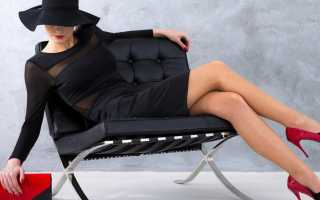 Черное платье – с чем стильно сочетать