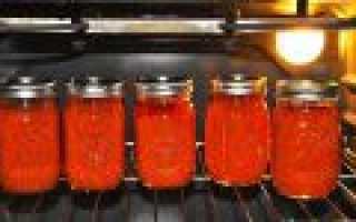Как стерилизовать в духовом шкафу банки с заготовкамиКак стерилизовать в духовом шкафу банки с заготовками: как приготовить, советы