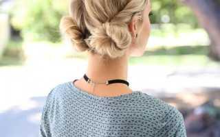 Стильные укладки для волос средней длины