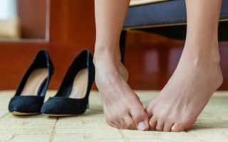 Методы борьбы с потливостью ног