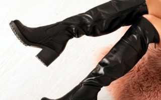 Как определить кожаные сапоги или нет