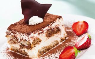 Тирамису: классические рецепты с фото в домашних условиях. 5 самых вкусных рецептов