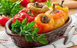 Болгарский перец, фаршированный овощами: как приготовить, советыБолгарский перец, фаршированный овощами: как приготовить, советы: как приготовить, советы
