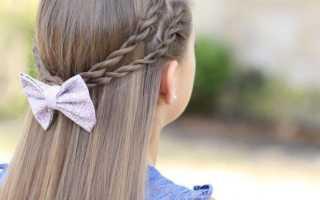 Лучшие детские прически на длинные волосы с пошаговыми фото