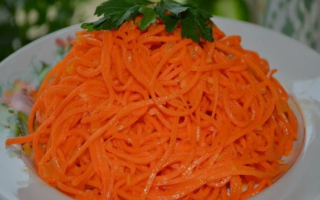 Морковь по-корейски в домашних условиях: лучший рецепт.