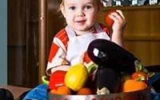 Меню для ребенка 2 лет на неделю с рецептами блюд (рацион питания)