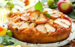Шарлотка в микроволновке с яблоками – 4 быстрых рецепта